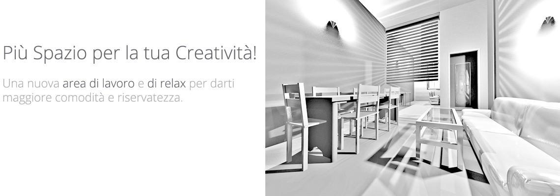 Nuova sala riunioni e relax – Noleggio Studio Fotografico Studio154