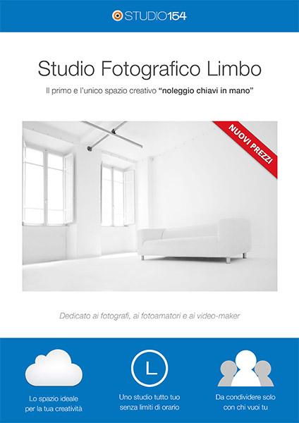 brochure studio fotografico limbo